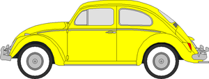 1962 Volkswagen Beetle Template (Colored) by SwiftysGarage