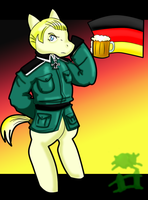 APH: Germany Pony by GothicEmerald