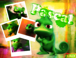 Pascal x Tangled by xRainbowDrop