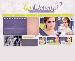EmWatson Header by Camellote