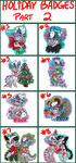 HOLIDAY.BADGE.PRICES.PRT2::..+ OPEN by Uriko44