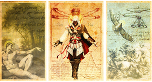 Assassino d'Italiano Triptych by Mihaii