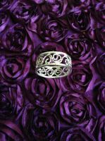 Eyes of the Goddess Ring by SunreiCreations