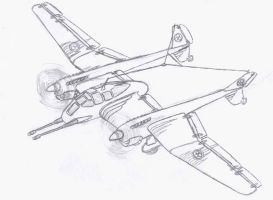 Combine buzzard dive bomber by packie1984