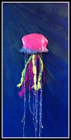 Canvas Jellyfish by Machi-Ramen
