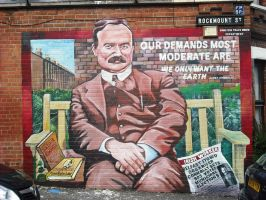 New Connolly mural by Keresaspa