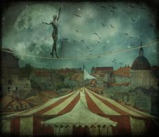 When the circus came to town... by mariegart