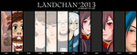 Summary of art 2013 by LandChan