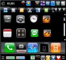 iPhone skin for Zlauncher by Dark-Capricorn