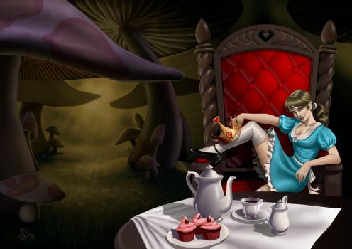 Alice Grown Up by ladyh