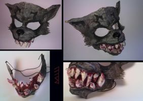 Werewolf mask by MarKomik