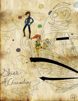 disney skies of arcadia by villainzekes