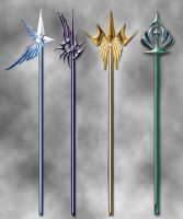 Halberd designs by Darla-Illara