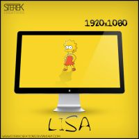 Lisa Simpson - Wallpaper by SterekCreations
