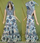 Enchanting Pixie Hood Patchwork Festival Dress by RedheadThePirate
