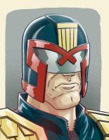 Judge dredd by Fuacka