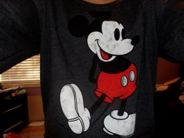 Mickey Mouse Shirt by hellokitty1996