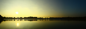 Sunset panorama by flippo141