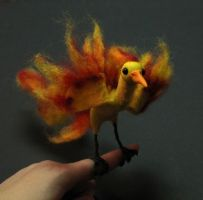 Posable art doll: Moltres- SOLD by superayaa