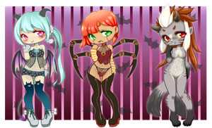 Demon Adoptables [CLOSED] by MamaGizzy