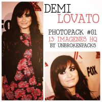 +Demi Lovato Pack 01. by UnbrokenPacks
