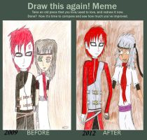 Before and After Contest Entry by QweXTheXEccentric