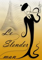 Le Slenderman by Shaed-Knightwing