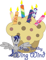 Happy Birthday WingWind by Yamitora1