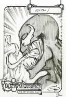 FREE Venom Sketch! by Carl-Riley-Art