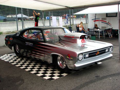1971 DODGE DEMON DRAGSTER by AmericanMuscle