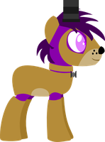 [MLP-FNaF] The Purple Guy by CarlosBrony-Art