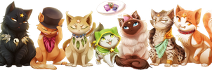 Com: Dem Guardian Cats: Part Cuatro! by DragginCat