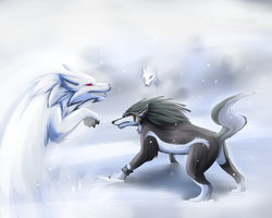 Battle on Snowpeak -Personal- by DrMario64