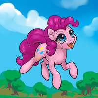 Speedpaint 06 - Pinkie Pie by KP-ShadowSquirrel