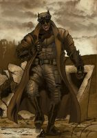 Batman Knightmare by Inhuman00