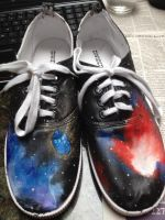 Doctor Who Galaxy Shoes! by ms-guppy