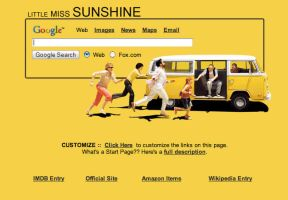 Little Miss Sunshine Startpage by AwesomeStart