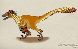 020--UTAHRAPTOR OSTROMMAYSORUM by Green-Mamba