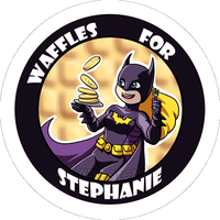 Waffles Button by TwinEnigma