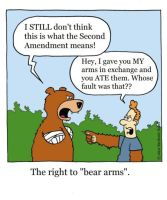 bear arms by The-Sardonics