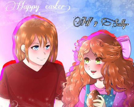 Jeff x Sally by SophieSpring