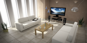 Living Room by azeta