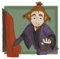 The Hobbit: Gift - Lil' Thief by Bernuviel