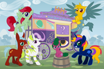 Hock and Hoof Traveling Circus by KitWarrior