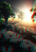 Lost World Anaglyph 3D by GiulioDesign94