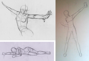 Pose Practice Sheet #1 by Skizzenbuch94