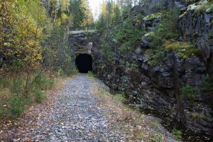 abandoned railroad tunnel 1 by werneri