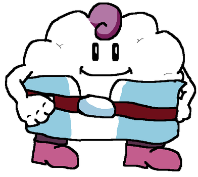 Mallow from Super Mario RPG by TheAmazingNSixtyfour