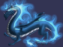 Dragon by Lupineborn