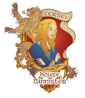 Cersei Lannister by lizgigg